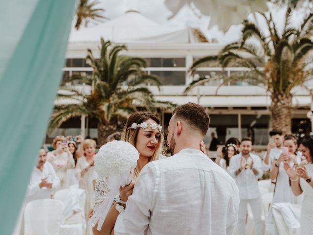 La boda de David y Alba en La Manga Del Mar Menor, Murcia 5