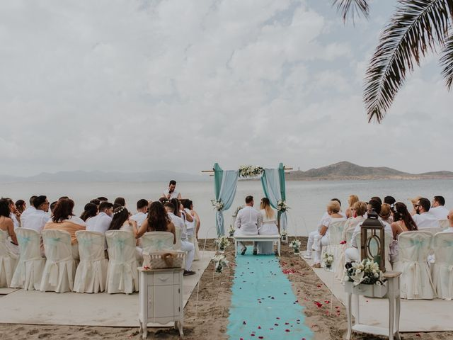 La boda de David y Alba en La Manga Del Mar Menor, Murcia 6