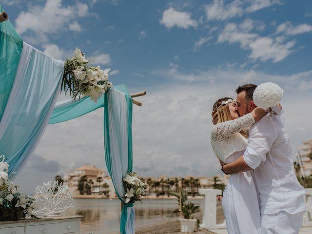 La boda de David y Alba en La Manga Del Mar Menor, Murcia 8