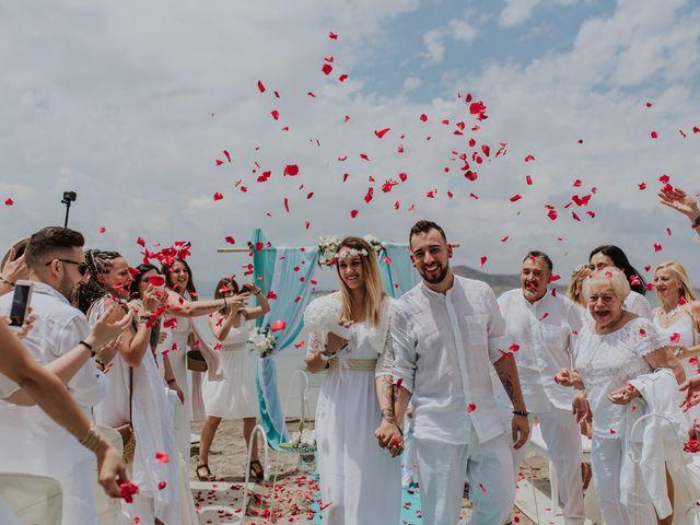 La boda de David y Alba en La Manga Del Mar Menor, Murcia 9