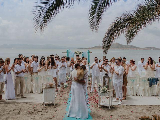 La boda de David y Alba en La Manga Del Mar Menor, Murcia 10