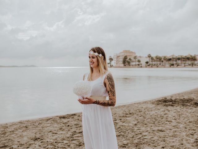 La boda de David y Alba en La Manga Del Mar Menor, Murcia 27