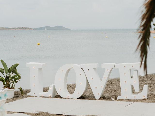 La boda de David y Alba en La Manga Del Mar Menor, Murcia 31