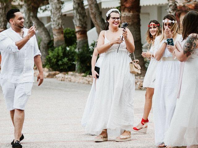 La boda de David y Alba en La Manga Del Mar Menor, Murcia 36