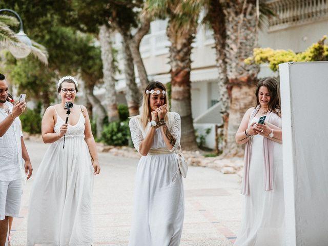 La boda de David y Alba en La Manga Del Mar Menor, Murcia 37