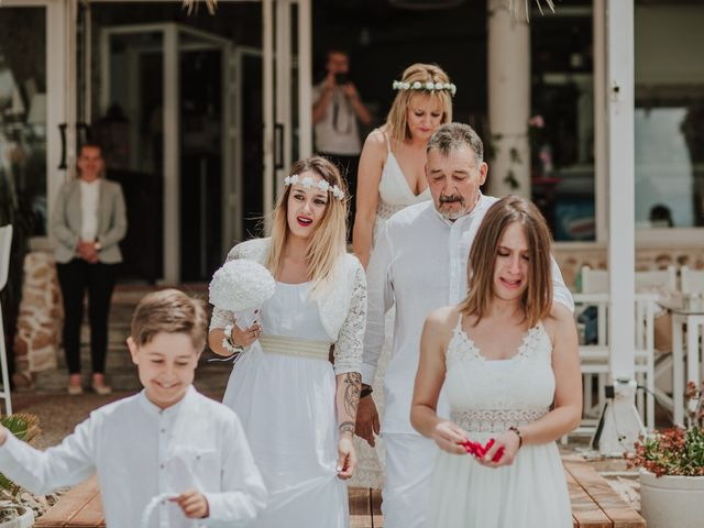 La boda de David y Alba en La Manga Del Mar Menor, Murcia 38