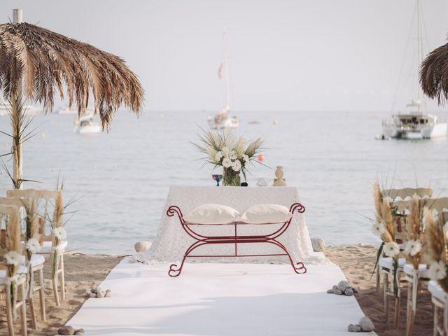 La boda de Israel y Pamela en Cala De San Vicente Ibiza, Islas Baleares 8