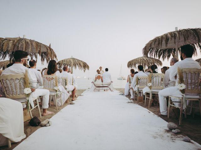 La boda de Israel y Pamela en Cala De San Vicente Ibiza, Islas Baleares 13