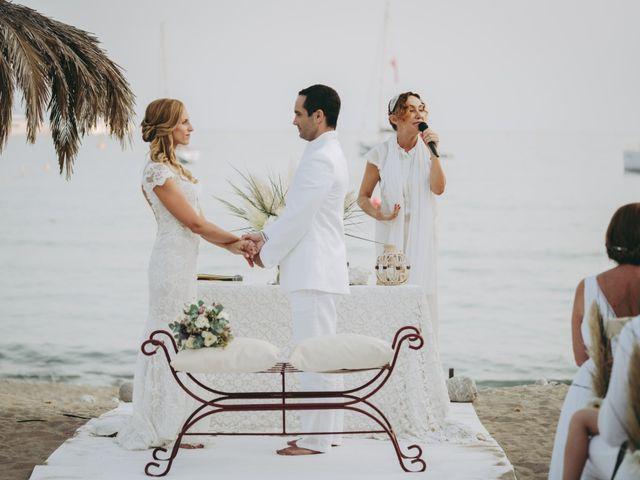La boda de Israel y Pamela en Cala De San Vicente Ibiza, Islas Baleares 16