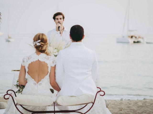 La boda de Israel y Pamela en Cala De San Vicente Ibiza, Islas Baleares 17