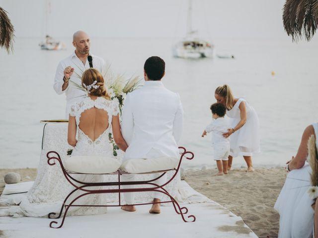 La boda de Israel y Pamela en Cala De San Vicente Ibiza, Islas Baleares 18