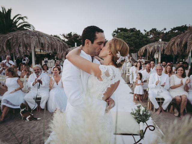La boda de Israel y Pamela en Cala De San Vicente Ibiza, Islas Baleares 22