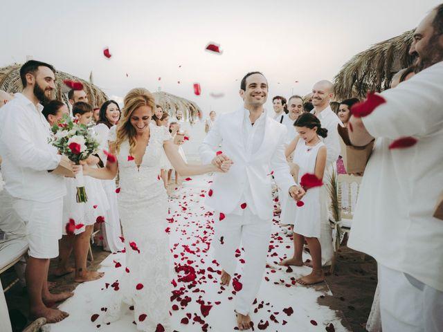 La boda de Israel y Pamela en Cala De San Vicente Ibiza, Islas Baleares 23