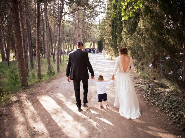 La boda de Josep y Mireia en La Selva Del Camp, Tarragona 7