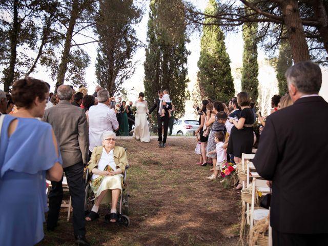 La boda de Josep y Mireia en La Selva Del Camp, Tarragona 8