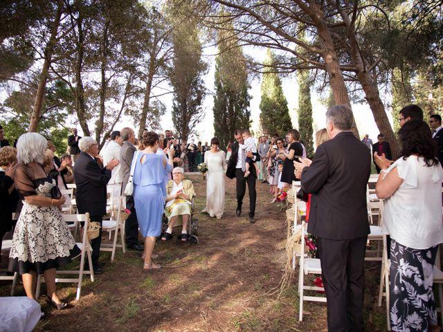 La boda de Josep y Mireia en La Selva Del Camp, Tarragona 9