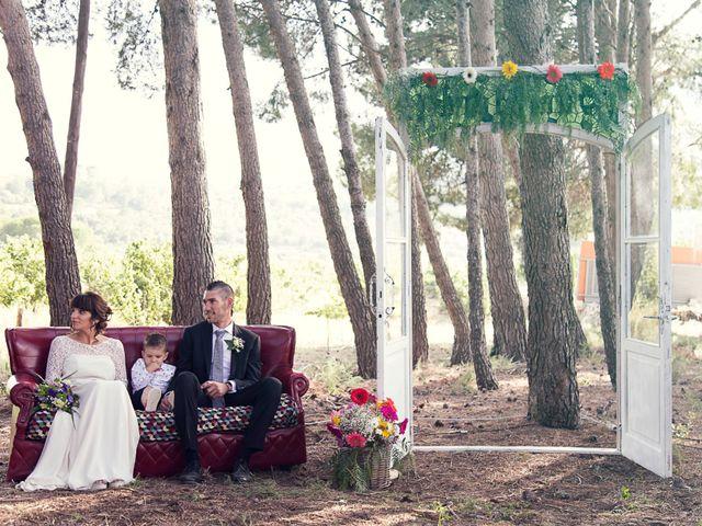 La boda de Josep y Mireia en La Selva Del Camp, Tarragona 13