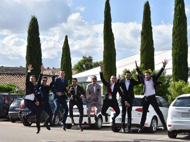 La boda de David y Amparo en L' Ènova, Valencia 1