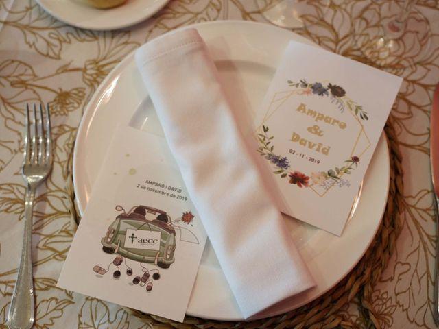 La boda de David y Amparo en L' Ènova, Valencia 27