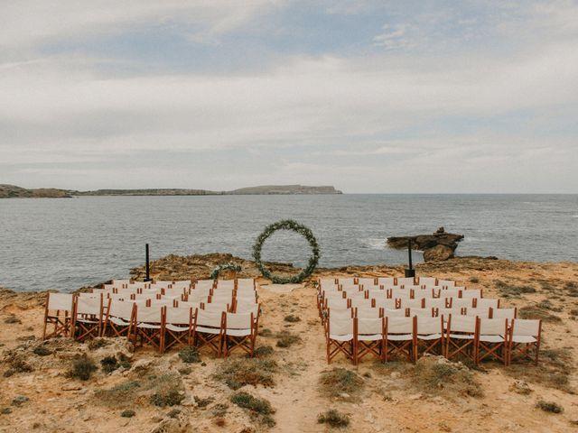 La boda de Hernan y Alina en Fornells, Islas Baleares 11