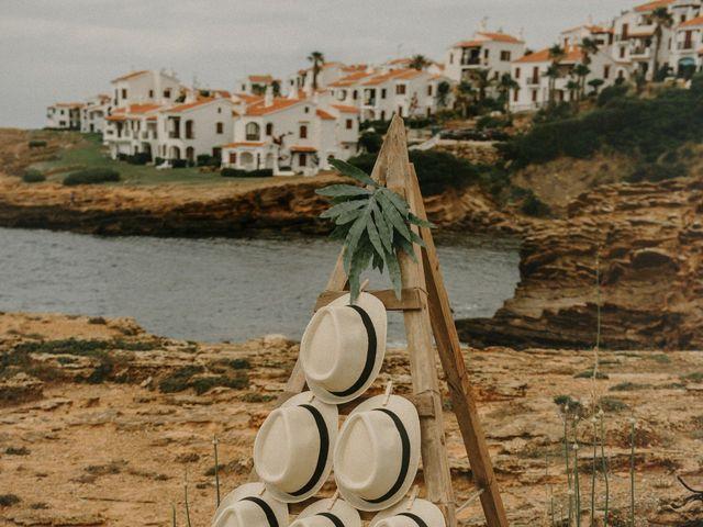 La boda de Hernan y Alina en Fornells, Islas Baleares 12