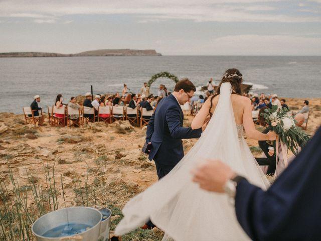 La boda de Hernan y Alina en Fornells, Islas Baleares 14