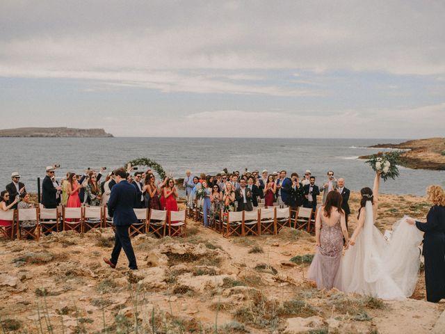 La boda de Hernan y Alina en Fornells, Islas Baleares 15