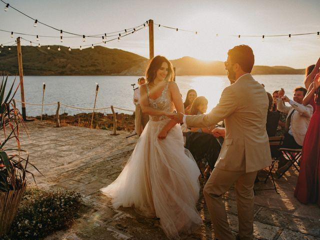 La boda de Hernan y Alina en Fornells, Islas Baleares 28