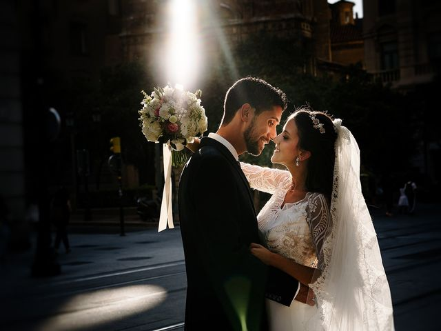 La boda de Silvia y Fernando en Zaragoza, Zaragoza 21