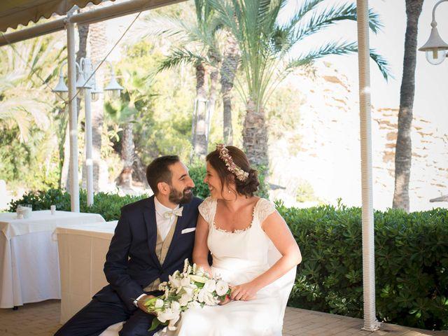 La boda de Diego y Carmen en La/villajoyosa Vila Joiosa, Alicante 27