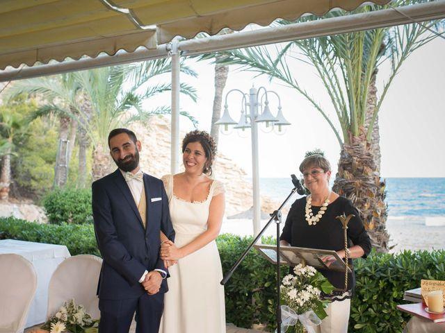 La boda de Diego y Carmen en La/villajoyosa Vila Joiosa, Alicante 30