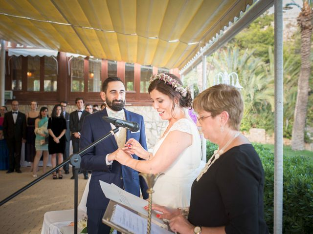 La boda de Diego y Carmen en La/villajoyosa Vila Joiosa, Alicante 31