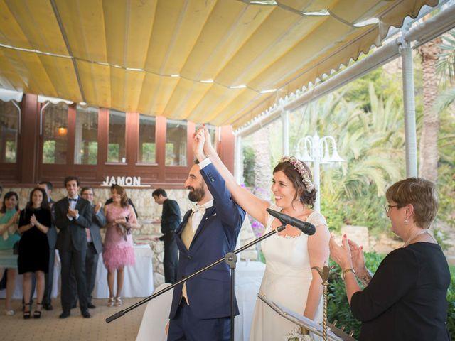 La boda de Diego y Carmen en La/villajoyosa Vila Joiosa, Alicante 34
