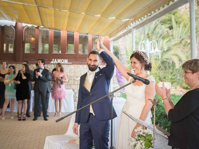 La boda de Diego y Carmen en La/villajoyosa Vila Joiosa, Alicante 35