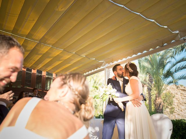 La boda de Diego y Carmen en La/villajoyosa Vila Joiosa, Alicante 36