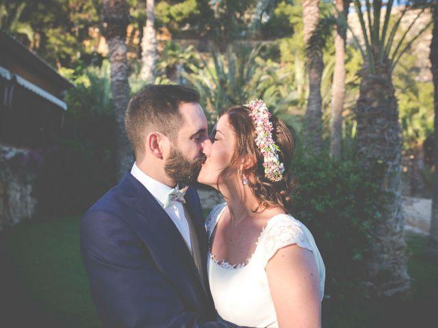 La boda de Diego y Carmen en La/villajoyosa Vila Joiosa, Alicante 40