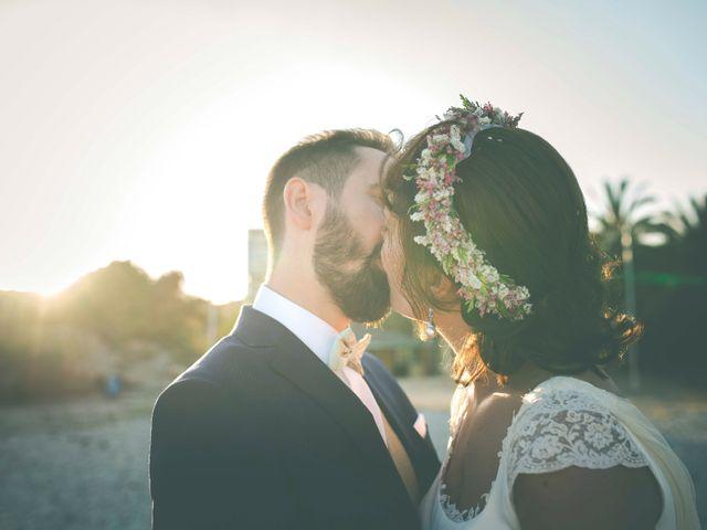 La boda de Diego y Carmen en La/villajoyosa Vila Joiosa, Alicante 44