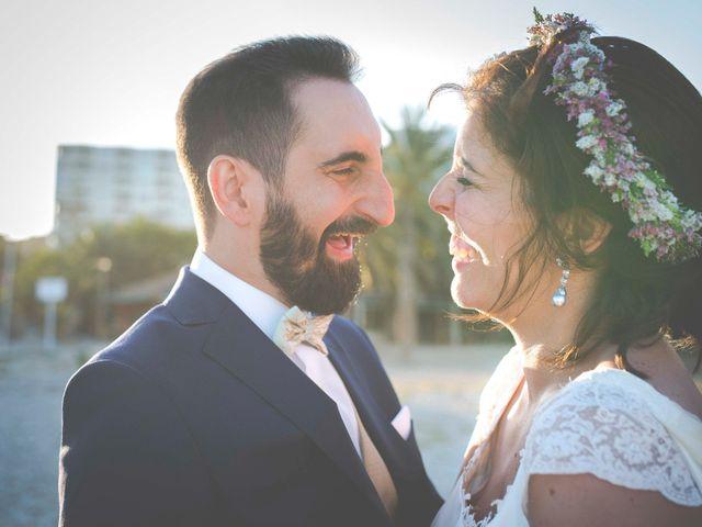 La boda de Diego y Carmen en La/villajoyosa Vila Joiosa, Alicante 45