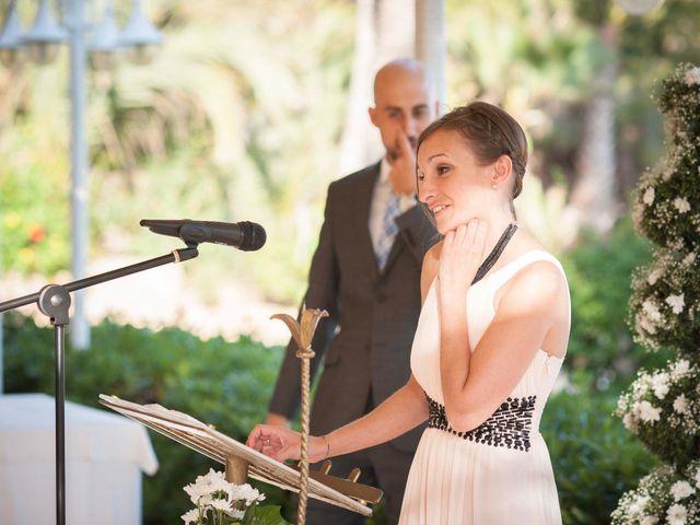 La boda de Diego y Carmen en La/villajoyosa Vila Joiosa, Alicante 58