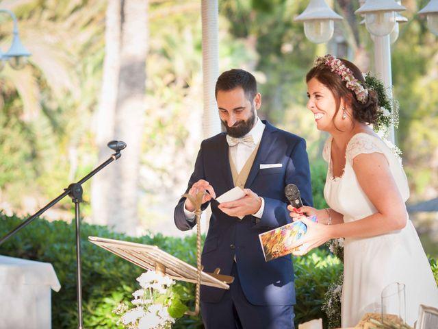 La boda de Diego y Carmen en La/villajoyosa Vila Joiosa, Alicante 64