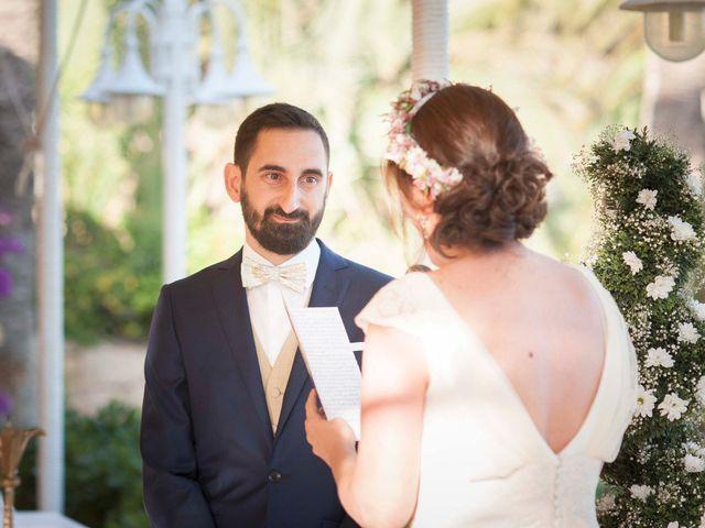 La boda de Diego y Carmen en La/villajoyosa Vila Joiosa, Alicante 66