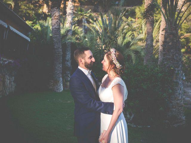 La boda de Diego y Carmen en La/villajoyosa Vila Joiosa, Alicante 89
