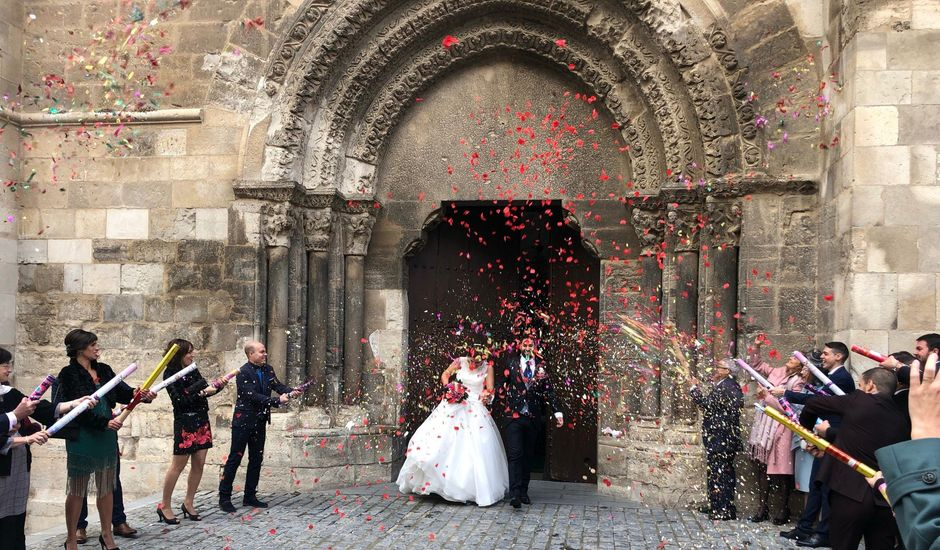 La boda de Leandro y Ana en Tudela, Navarra