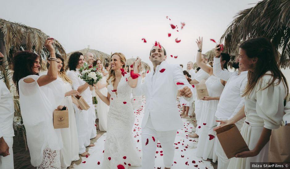 La boda de Israel y Pamela en Cala De San Vicente Ibiza, Islas Baleares