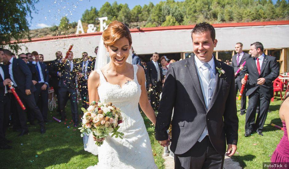 La boda de Andrés y Eva en Cañete, Cuenca