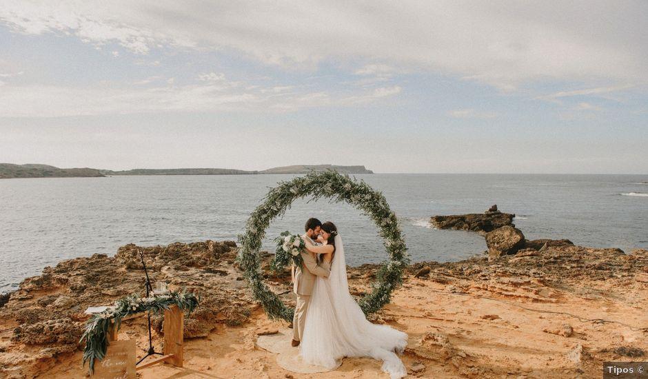 La boda de Hernan y Alina en Fornells, Islas Baleares