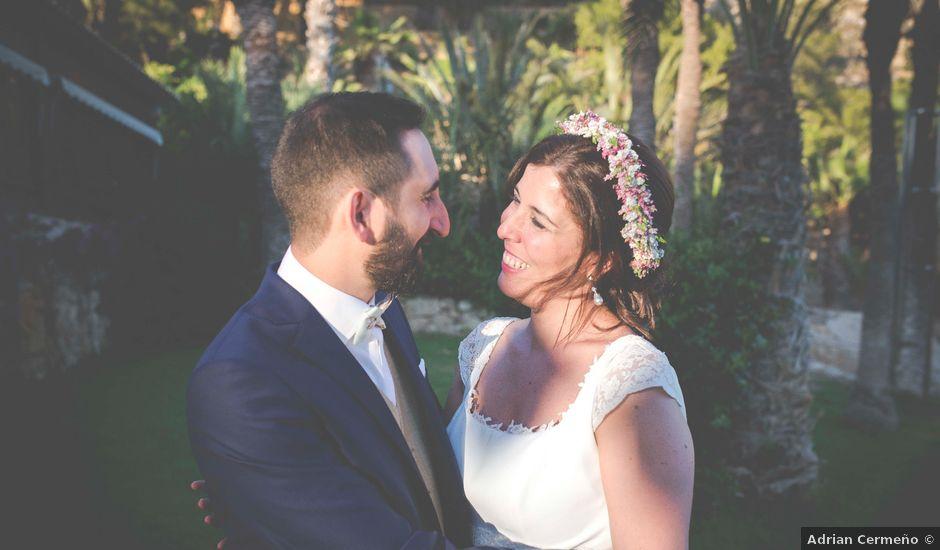 La boda de Diego y Carmen en La/villajoyosa Vila Joiosa, Alicante