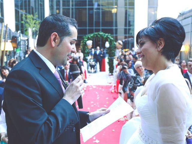La boda de Javier y Norma en Madrid, Madrid 13
