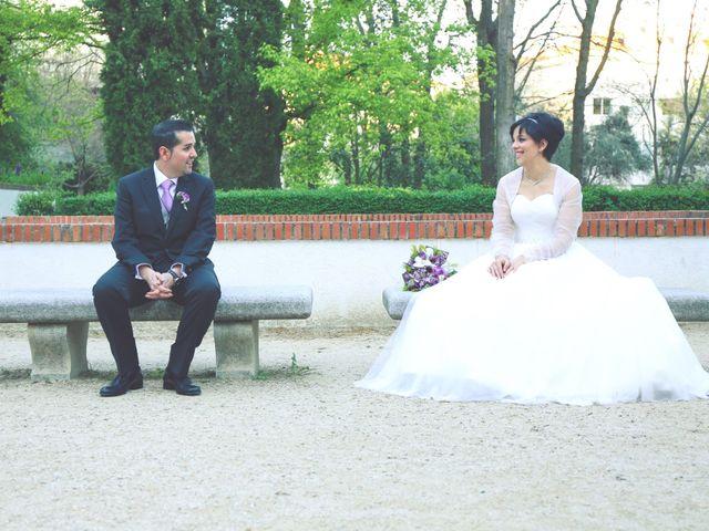 La boda de Javier y Norma en Madrid, Madrid 23