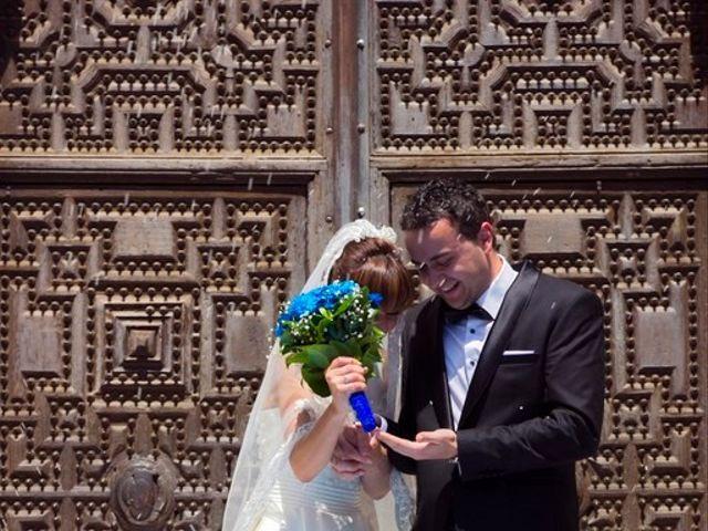 La boda de Cristian y Abigail en Carrion De Calatrava, Ciudad Real 7